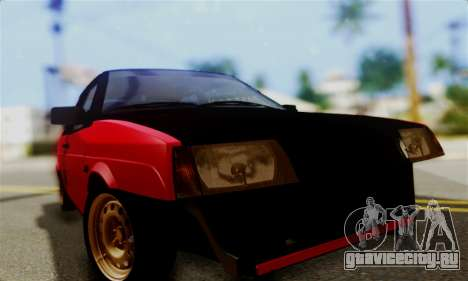 ВАЗ 2108 Бродяга для GTA San Andreas вид сзади
