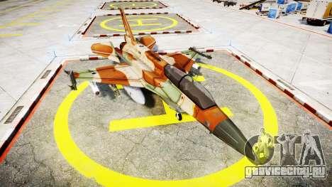 Lockheed F-16I Sufa Storm для GTA 4