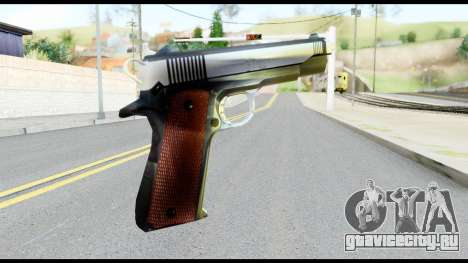 Colt 1911A1 from Metal Gear Solid для GTA San Andreas второй скриншот