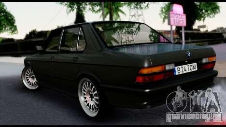 BMW M5 E28 Christmas Edition для GTA San Andreas
