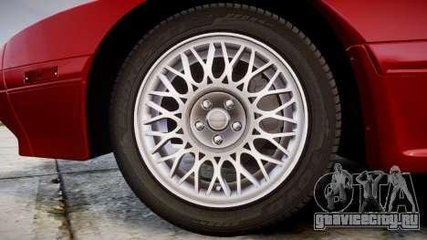 Mazda RX-7 1990 FC3s [EPM] для GTA 4 вид сзади