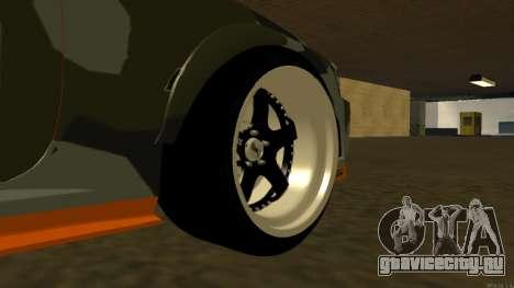 Nissan Skyline R34 FAIL CREW 2014 для GTA San Andreas вид сзади