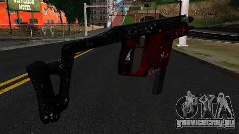 Новогодняя MP5 для GTA San Andreas второй скриншот