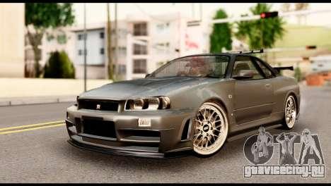 Nissan Skyline R34 Z для GTA San Andreas