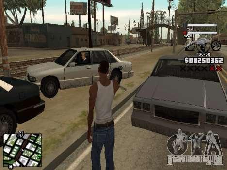 Nice C-HUD для GTA San Andreas второй скриншот
