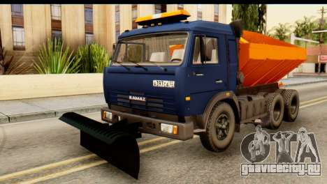 КамАЗ 65115 Снегоуборщик для GTA San Andreas