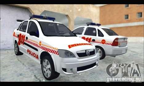 Chevrolet Corsa Premium Policia de Salta для GTA San Andreas