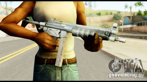 MP5 с Разложенный Прикладом для GTA San Andreas