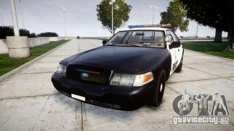 Ford Crown Victoria Ontario Police [ELS] для GTA 4