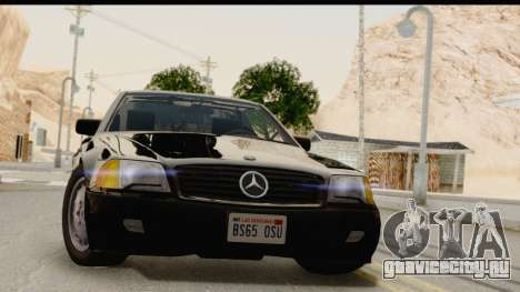 Mercedes-Benz 500SL R129 1992 для GTA San Andreas
