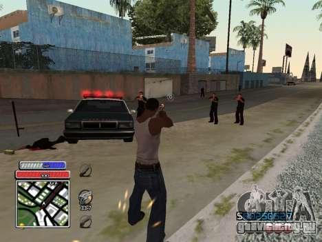 C-HUD Unique v4.1 для GTA San Andreas четвёртый скриншот