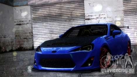 Subaru BRZ Drift Built для GTA San Andreas