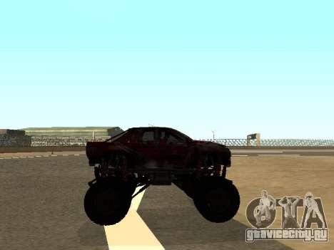 SuperMotoXL Zen MaXXimus CD 17.1 XL-HT для GTA San Andreas вид сзади