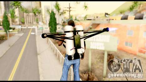 Fury Jetpack from Metal Gear Solid для GTA San Andreas третий скриншот