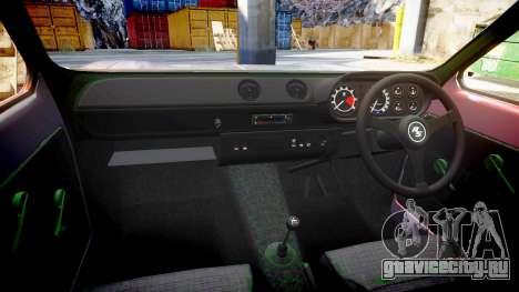 Ford Escort Mk1 для GTA 4 вид сбоку