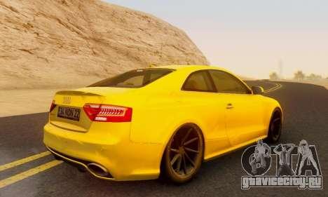 Audi RS5 (RC) для GTA San Andreas вид слева