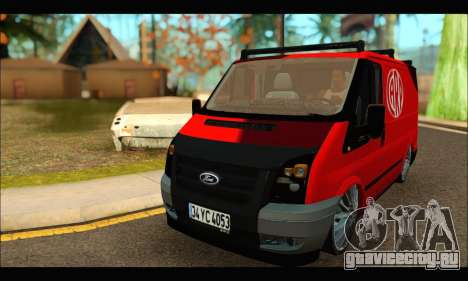 Ford Transit River для GTA San Andreas