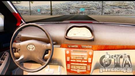 Toyota Vios TRD Racing для GTA San Andreas вид сзади слева