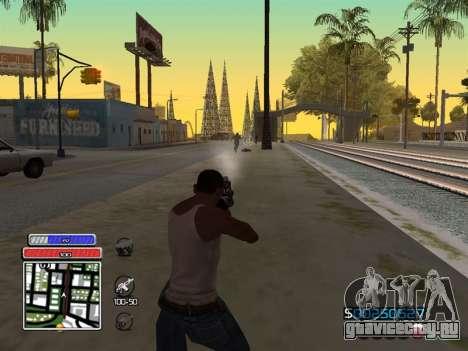 C-HUD Unique v4.1 для GTA San Andreas