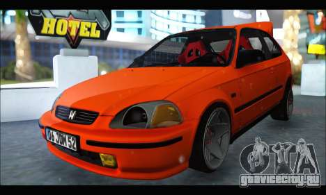 Honda Civic HB (JDM Family) для GTA San Andreas