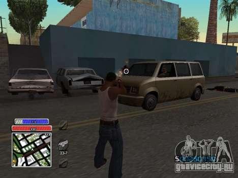 C-HUD Unique v4.1 для GTA San Andreas третий скриншот