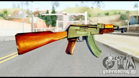 AK47 from Metal Gear Solid для GTA San Andreas второй скриншот