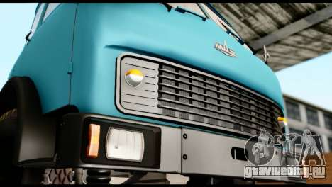 МАЗ 500 для GTA San Andreas вид сзади слева