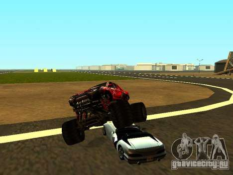 SuperMotoXL Zen MaXXimus CD 17.1 XL-HT для GTA San Andreas салон