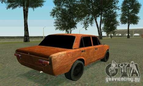 ВАЗ 2101 Ratlook v2 для GTA San Andreas вид снизу