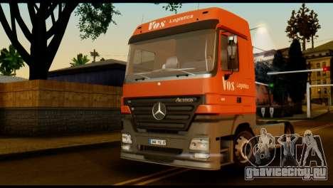 Mercedes-Benz Actros PJ2 для GTA San Andreas