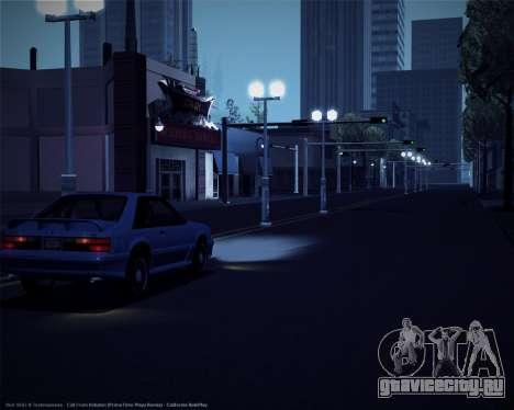 ENBSeries для слабых и средних ПК для GTA San Andreas третий скриншот