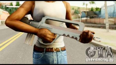 Famas from Metal Gear Solid для GTA San Andreas третий скриншот