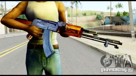 AK47 from Metal Gear Solid для GTA San Andreas третий скриншот