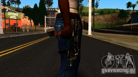 Machine from Shadow Warrior для GTA San Andreas третий скриншот
