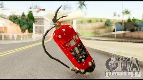 Fire Extinguisher with Blood для GTA San Andreas второй скриншот