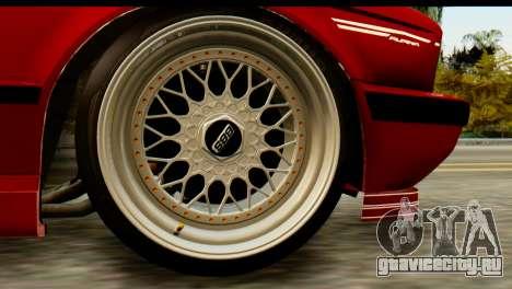 BMW M5 E34 Alpina для GTA San Andreas вид сзади слева