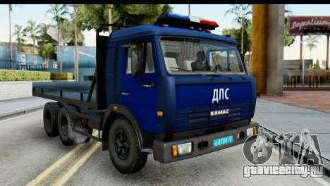 КамАЗ 65115 Эвакуатор ДПС для GTA San Andreas