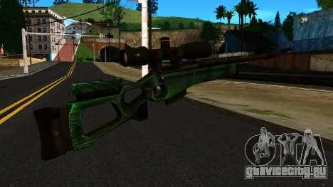 СВ-98 без Сошек и с Прицела для GTA San Andreas второй скриншот