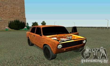 ВАЗ 2101 Ratlook v2 для GTA San Andreas вид сверху