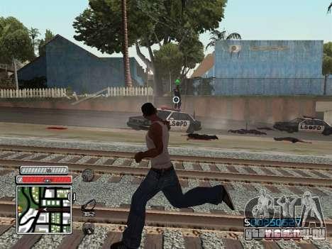 C-HUD Unique v4.1 для GTA San Andreas шестой скриншот