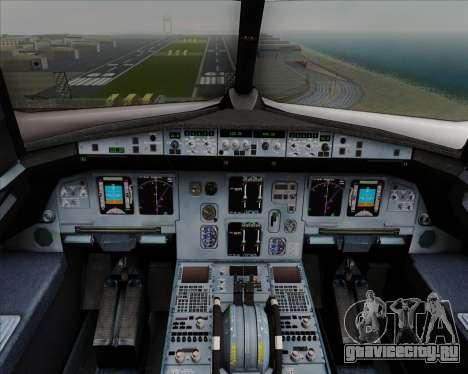 Airbus  A320-200 Delta Airlines для GTA San Andreas салон