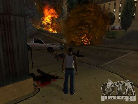 Realistic Effect 3.0 Final Version для GTA San Andreas третий скриншот