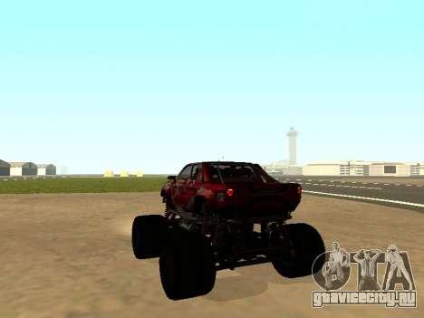 SuperMotoXL Zen MaXXimus CD 17.1 XL-HT для GTA San Andreas вид слева