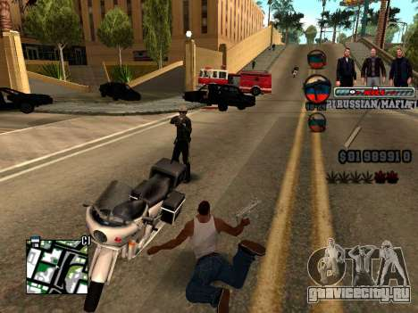 C-HUD Russian Mafia для GTA San Andreas четвёртый скриншот