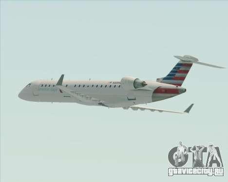 Bombardier CRJ700 American Eagle Airlines для GTA San Andreas колёса