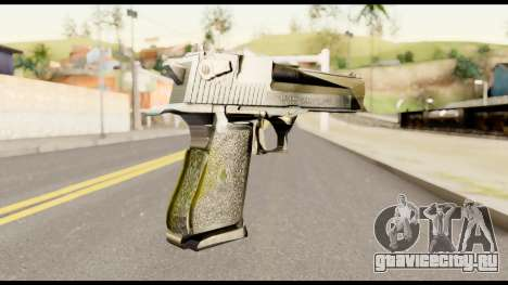 Desert Eagle from Metal Gear Solid для GTA San Andreas второй скриншот
