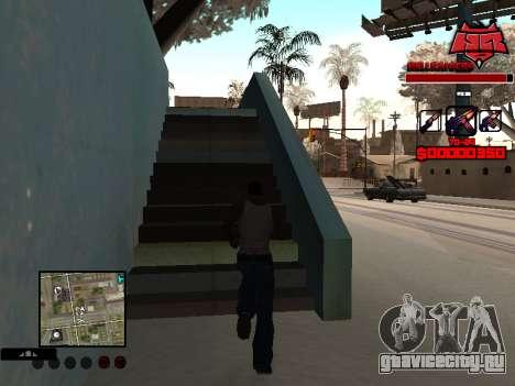 C-HUD Raisers для GTA San Andreas второй скриншот
