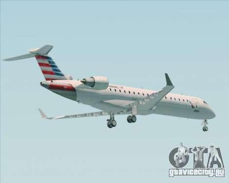 Bombardier CRJ700 American Eagle Airlines для GTA San Andreas вид сзади