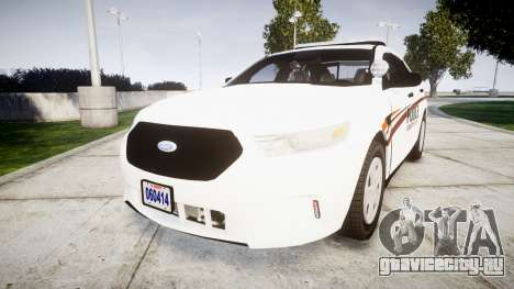 Ford Taurus 2014 Police Interceptor [ELS] для GTA 4