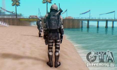 C.E.L.L. Soldier (Crysis 2) для GTA San Andreas шестой скриншот